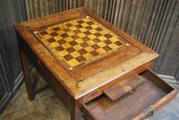 Antique French Tric Trac Games Table (4 of 6)