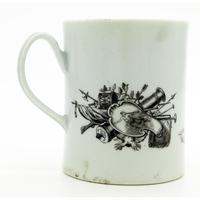 Worcester Porcelain Royal Commemorative Frederick II Tankard 18th Century / Early 19th Century (3 of 10)