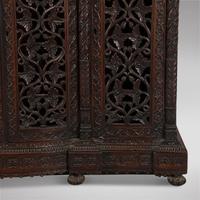 Highly Decorative Burmese 19th Century Three Door Cabinet (5 of 5)