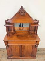 Victorian Mahogany Chiffonier with Mirror Back (2 of 10)