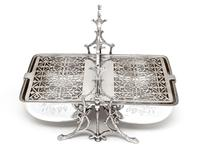 Victorian Fenton Brothers Beautifully Engraved Silver Plated Biscuit Warmer (4 of 4)