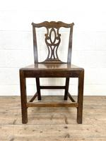 Set of Four Country Oak Dining Chairs (5 of 10)