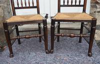Good Pair of Country Spindle Back Chairs (3 of 6)