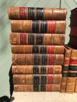 30 Antique Leather Bound Law Books 1919-1947 (2 of 6)
