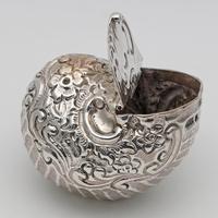 19th Century Silver Novelty Snuff Box (4 of 4)