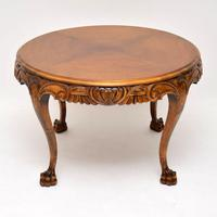 Antique  Swedish Satin Birch Coffee Table (3 of 7)