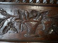 Antique French Carved Oak Bookcase (13 of 16)