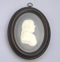 After James Tassie - Georgian Plaster Framed Portrait Medallion c.1820