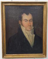 Antique Oil Painting of Regency Gentleman (3 of 4)