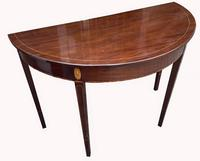 Superb Pair of George III Mahogany Console Tables (9 of 10)