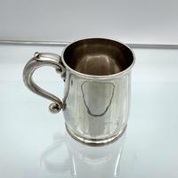 Antique George II Sterling Silver Pint Mug London 1728 Edward Vincent (2 of 7)