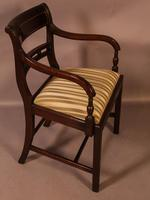 Good Set of 8 Regency Period Dining Chairs in Mahogany (5 of 13)