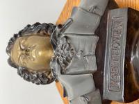 Classical Music Interest German Bronze Composer Ludwig Van Beethoven Bust Sculpture (25 of 25)