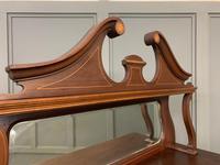 Inlaid Mahogany Edwardian Display Cabinet (9 of 12)