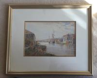 Hans Z.Herrmann Watercolours 'River Landscape' (2 of 2)