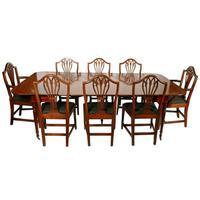 Set of Eight Hepplewhite Chairs (9 of 9)