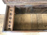 Antique 18th Century Oak Coffer with Three Panel Front (5 of 19)