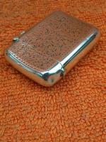 Antique Sterling Silver Hallmarked Vesta Case 1910, Samuel M Levi (3 of 9)