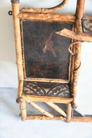 Antique Victorian Bamboo Mirror (5 of 9)