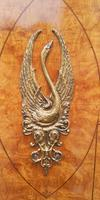 French Art Deco Burr Ash, Marquetry & Gilt Metal Mounted Wardrobe c.1910 (8 of 18)