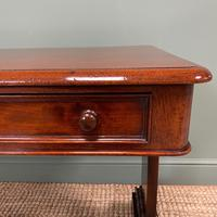 Quality Victorian Mahogany Antique Writing Library Table (5 of 6)