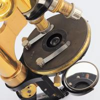 Antique Monocular Microscope by Ernst Leitz Wetzlar Retailed by Ogilvy & Co London c.1925 (10 of 15)