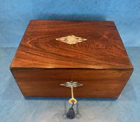 Victorian Rosewood Jewellery Box (11 of 15)
