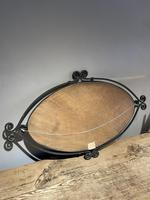 Art Deco Wrought Iron Mirror (5 of 5)