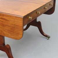 Regency Period Figured Mahogany Sofa Table c1815 (6 of 11)