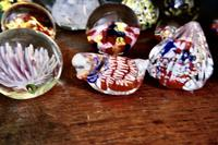 Collection of 18 Vintage Art Glass Millefiori Weights (5 of 6)