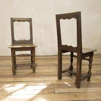 Set of Four French 18th Century Backstool Chairs (11 of 13)