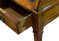 Satinwood Tambour Topped Desk c.1890 (6 of 10)