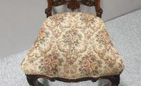 Set of  Victorian Walnut Dining Chairs (7 of 8)