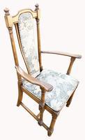 Wonderful set of Eight Ash Ercol Hampton Dining Chairs (8 of 8)