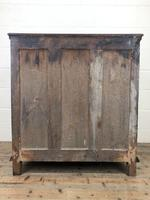 Antique Geometric Oak Chest of Drawers (10 of 10)