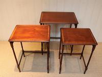 Mahogany Nest of Three Tables (5 of 11)