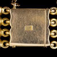 Antique Victorian 15ct Gold Gate Bracelet c.1900 (4 of 5)