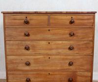 Chest of Drawers 19th Century Light Mahogany (5 of 12)