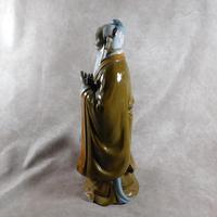 Large Shiwan (Shekwan) Ware Figure of Confucious Kong zi (6 of 7)