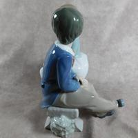 """Primer Amor"" or ""First Love"" Hand Modelled Porcelain Figure by Nao (5 of 9)"