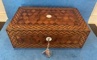 Victorian Inlaid Parquetry Rosewood Box (5 of 12)
