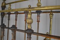 Victorian Brass & Iron King Size 5ft Antique Bed Frame - Fully Restored in Your Choice of Colour (9 of 15)