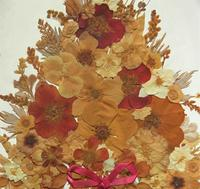 19th Century Victorian Floral Still Life of Pressed Flowers Picture (9 of 12)
