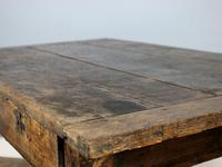 18th Century English Twin Drawer Oak Table (2 of 7)