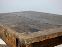 18th Century English Twin Drawer Oak Table (7 of 7)