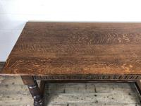 Early 20th Century Antique Oak Refectory Table (M-1739) (7 of 16)