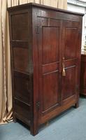 18th Century Oak Hall Wardrobe (7 of 11)