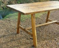 Antique Farmhouse Rustic / Industrial Table (6 of 9)