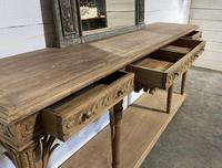 Wonderful French Walnut Console Table (14 of 36)