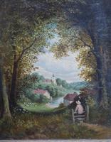 Fine Pair of English Landscapes - J J Hill (3 of 11)